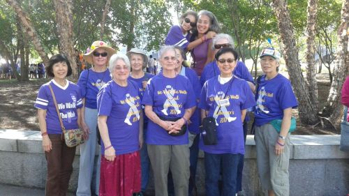 Alzheimer's Walk Team