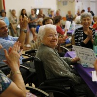 Sadie Snyder, 105